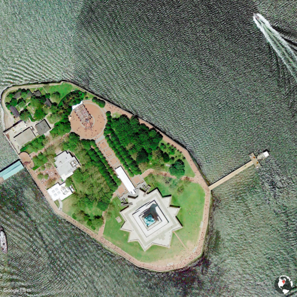 New York, United States - Earth View from Google
