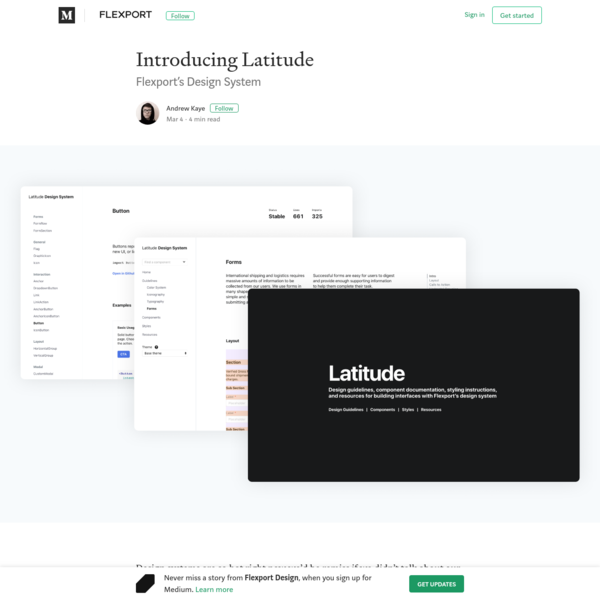 Introducing Latitude - Flexport Design - Medium