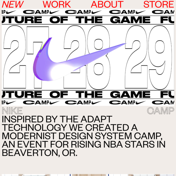 THE NEW COMPANY - NIKE CAMP