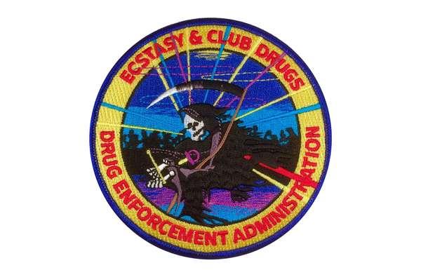 Ecstacy & Club Drugs - DEA Patch
