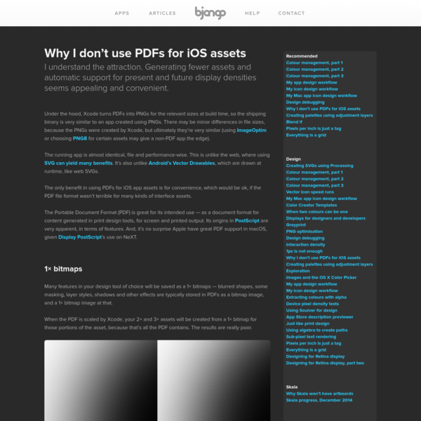 Why I don't use PDFs for iOS assets