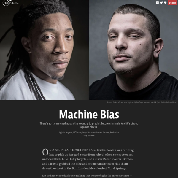 Machine Bias - ProPublica