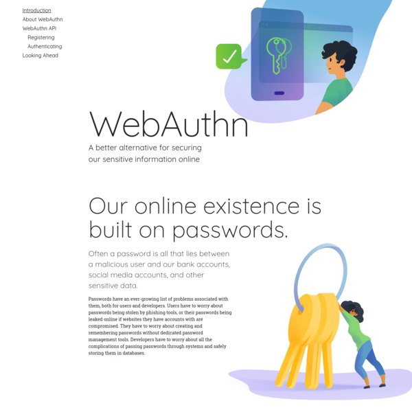 Guide to Web Authentication