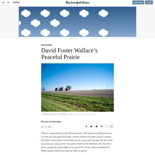 David Foster Wallace's Peaceful Prairie