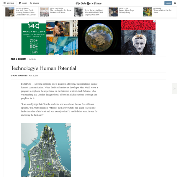Design Firm Seeks to Humanize Technology