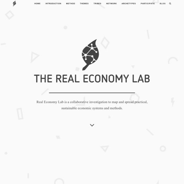 Real Economy Lab | Real Economy Lab