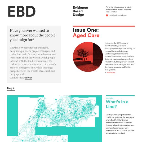 Evidence Based Design