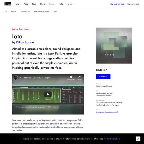 Iota | Ableton