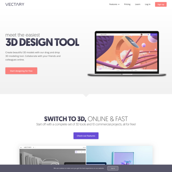 Vectary - The Easiest Online 3D Design & 3D Modeling Software