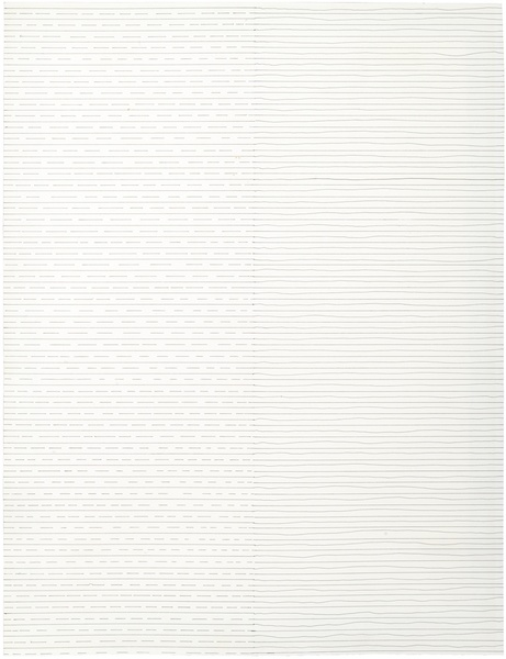 Sol LeWitt, LEFT: STRAIGHT AND BROKEN LINES RIGHT: STRAIGHT AND NOT STRAIGHT LINES, 1972