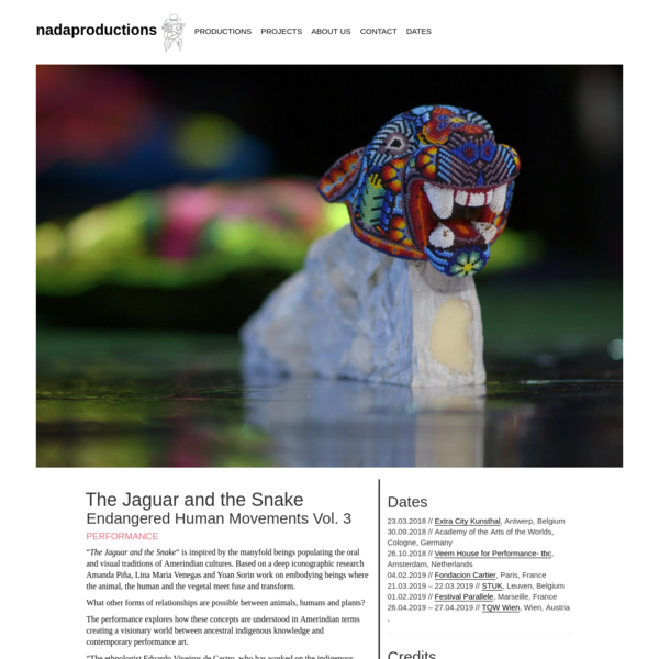 """The Jaguar and the Snake """" nadaproductions"""