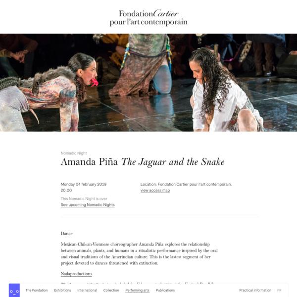 "Nomadic Night "" Amanda Piña The Jaguar and the Snake"""