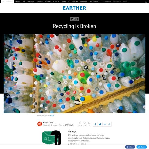 Recycling Is Broken