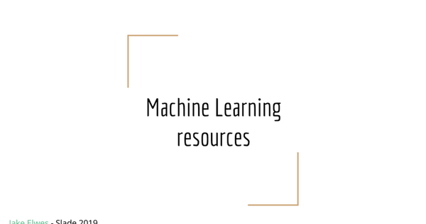 Slade - Art & Machine Learning 2019