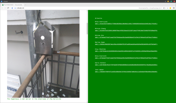 Vogelhaus documentation