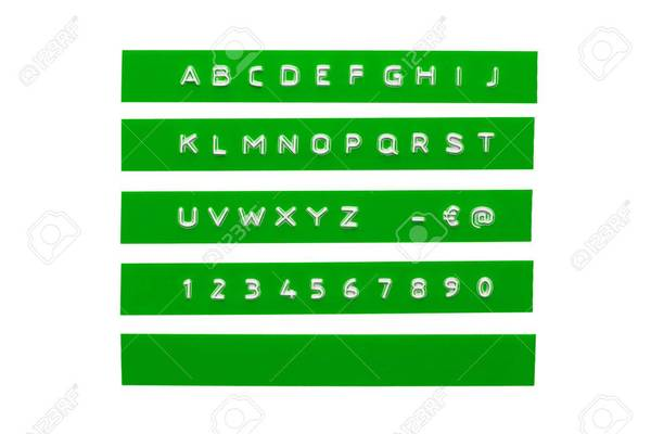 45268138-embossed-alphabet-on-green-plastic-tape.jpg