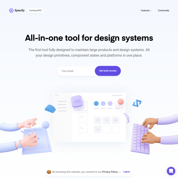 Specify - All-in-one tool for design systems