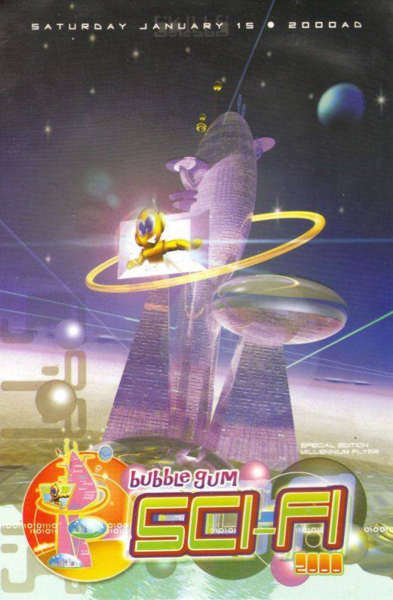 Bubblegum Sci-Fi 2000 – Special Edition Millennium Flyer (Jan 15, 2000)
