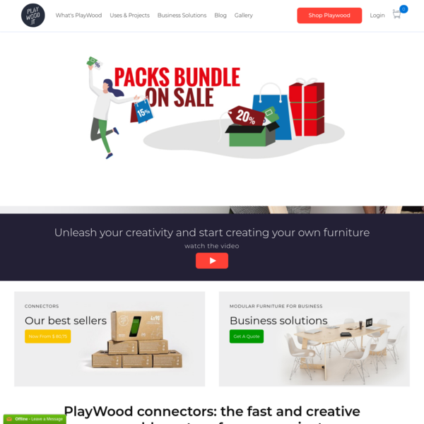 PlayWood - The boards joint system