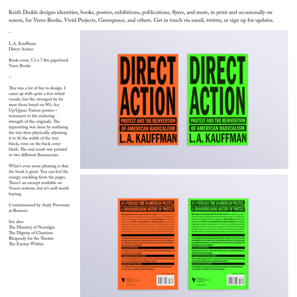 Direct Action - Keith Dodds