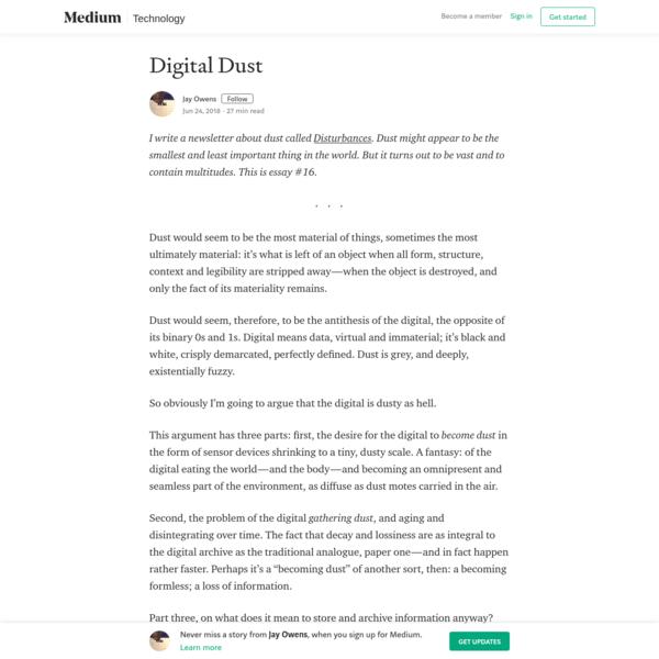Digital Dust