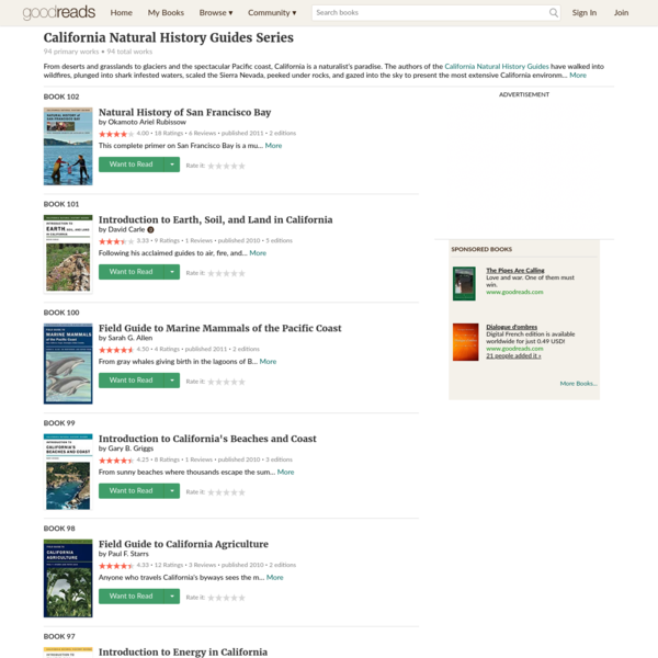 California Natural History Guides Series by Okamoto Ariel Rubissow