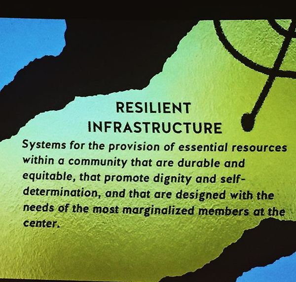 #grateful to be at the @alliedmediaconf with our buds @prysmfam // #resilientinfrastructure #mutualaid #solidaritynotcharity...