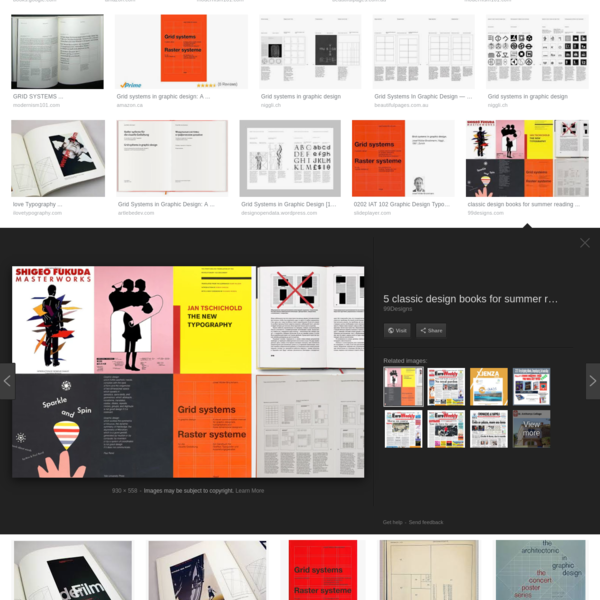 Grid Systems in Graphic Design 1981 - Google Search