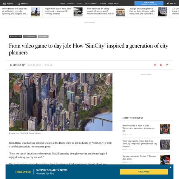From video game to day job: How 'SimCity' inspired a generation of city planners