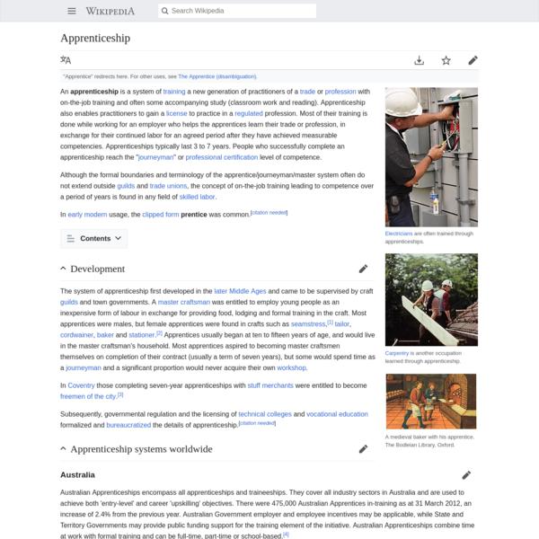 Apprenticeship - Wikipedia