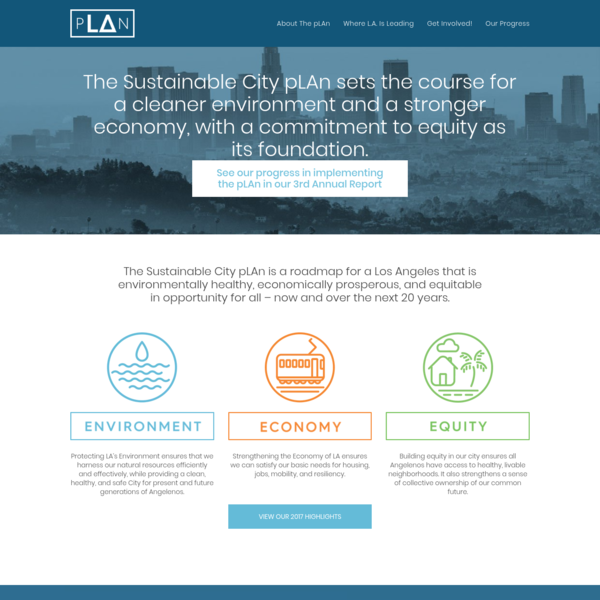 Sustainable City pLAn 2nd Annual Report