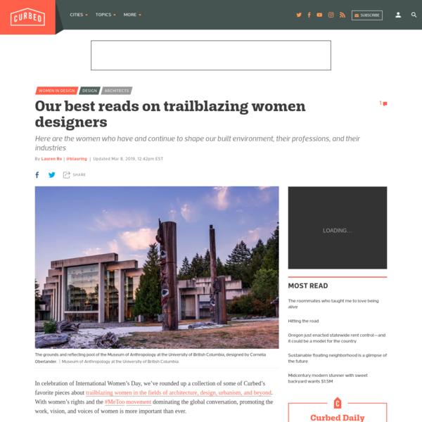 Our best reads on trailblazing women designers