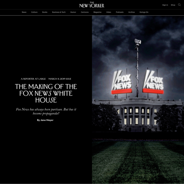 The Making of the Fox News White House | The New Yorker