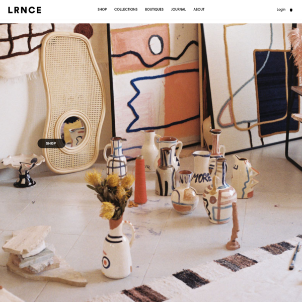 LRNCE is a Marrakesh based lifestyle brand focusing on interior decoration and accessories.
