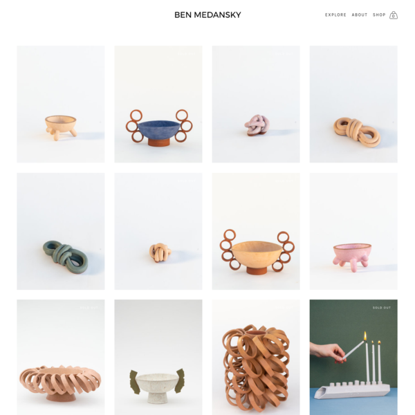 SHOP - Ben Medansky