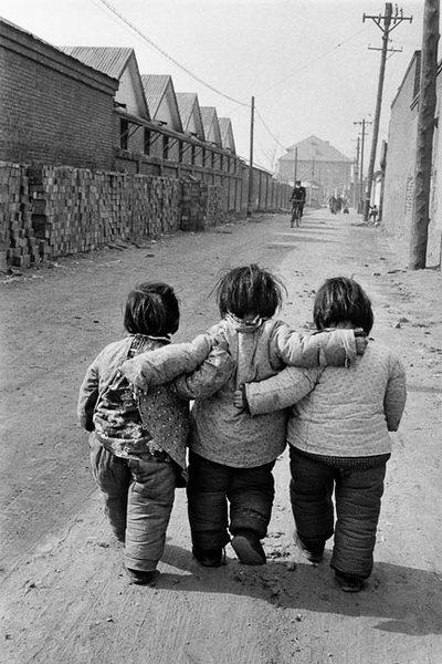 Three friends, Beijing (1957)