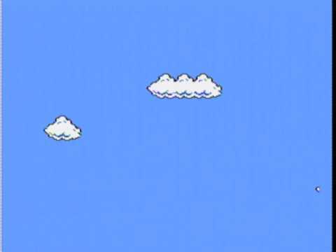 Cory Arcangel - Super Mario Clouds - 2002