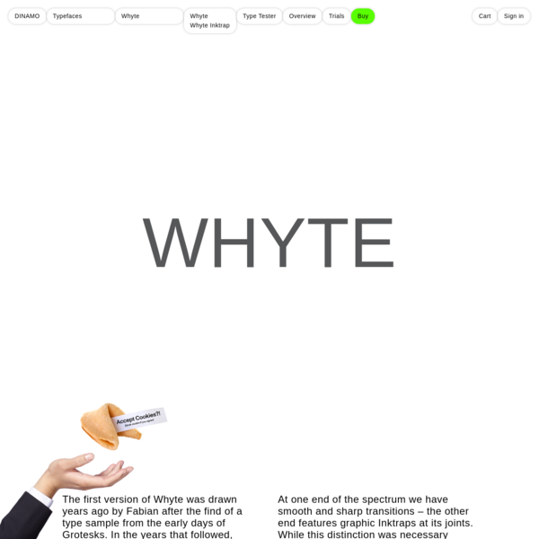 DINAMO: Typefaces: Whyte