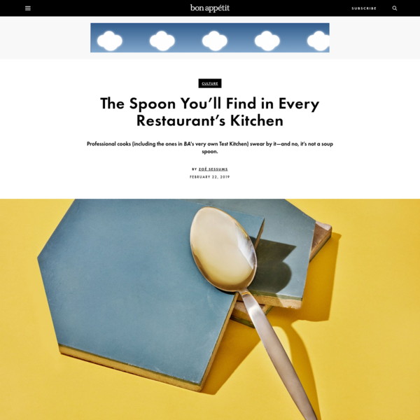 The Professional Kitchen Spoon You Need For Just About Everything