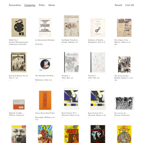 Soccochico is an independent online bookshop based in London.