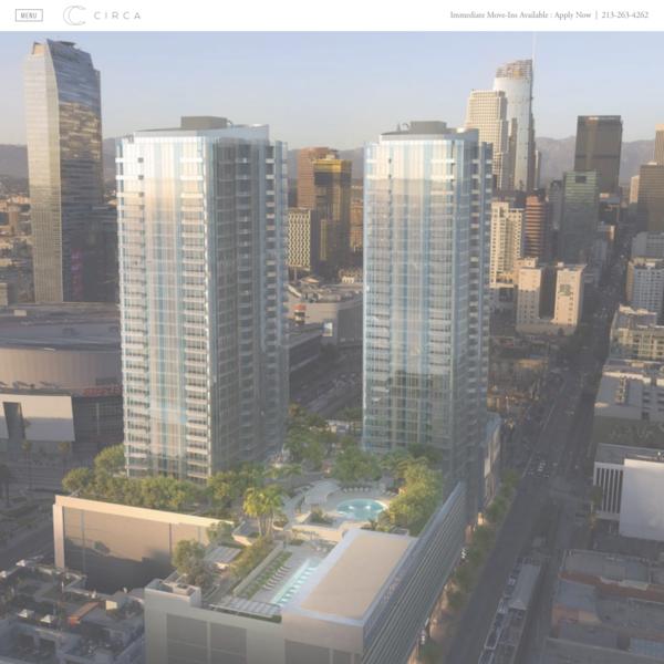 1, 2, & 3 Bedroom DTLA Apartments for Rent | Circa LA