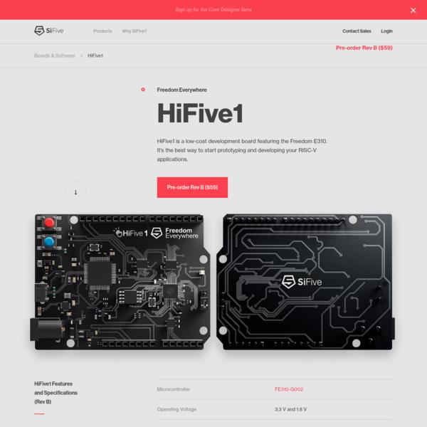 HiFive1