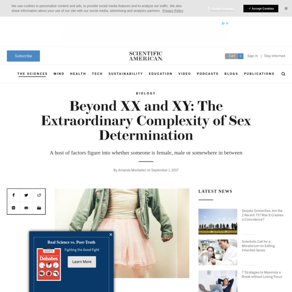 Beyond XX and XY: The Extraordinary Complexity of Sex Determination