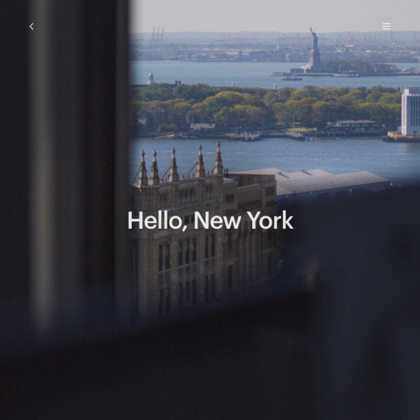 Hello, New York - Instrument