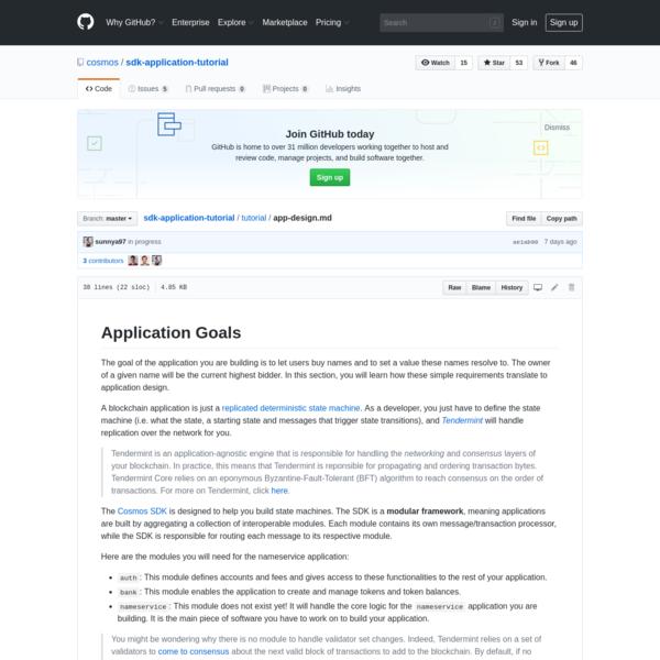 A tutorial for building modules for the Cosmos SDK - cosmos/sdk-application-tutorial