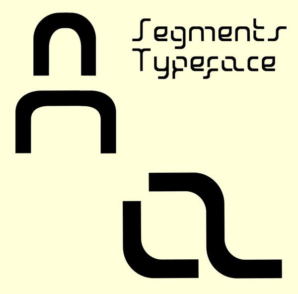 Segments Typeface