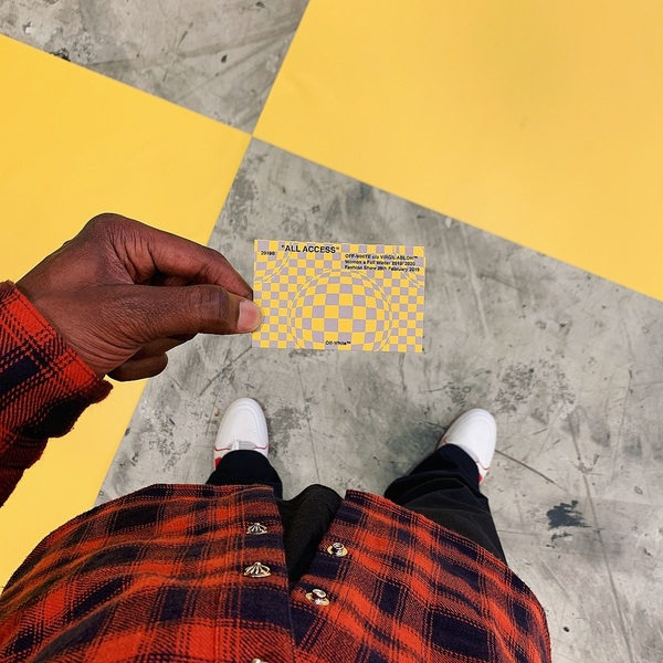 """55.5k Likes, 249 Comments - @virgilabloh on Instagram: """"fw20 women's @off____white™ runway show streaming live in a coupe hours. 7:30 pm Paris local time..."""""""