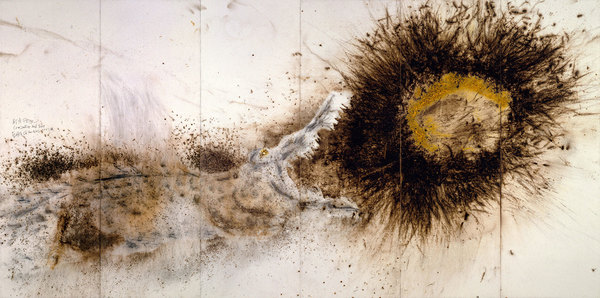 Cai Guo Qiang - Crocodile and Sun
