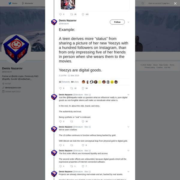 Denis Nazarov on Twitter