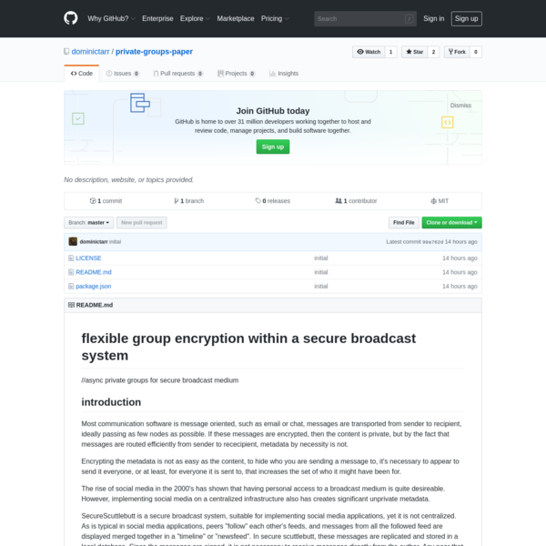 dominictarr/private-groups-paper
